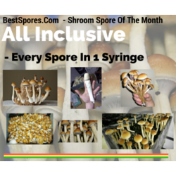 All Inclusive - Every Spore In 1 Syringe  *Limited Time July 2016